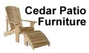 Cedar Patio Furniture Shop